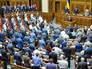 Президент Украины Пётр Порошенко в Верховной Раде