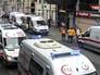 Машины скорой помощи на месте взрыва в Турции