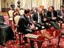 """Владимир Путин на встрече со съёмочной группой фильма """"Викинг"""""""