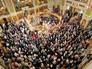 Церемония освящения нового храма Воскресения Христова и Новомучеников и Исповедников Церкви Русской