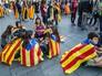 Демонстрация в Испании, Каталония