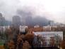 На юго-западе Москвы горит новостройка
