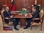 Встреча Владимира Путина и Дмитрия Медведева