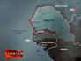 Сенегал на карте