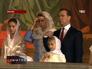 Каждый год в Храме Христа Спасителя Рождество встречают и Премьер Дмитрий Медведев с супругой Светланой