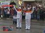В Нижнем Новгороде встретили Олимпийский огонь