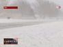 Сильный снегопад в США