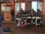 Пожарные у Киевского вокзала