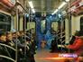 В столичном метро появился первый олимпийский поезд