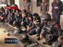 Полиция на акции протеста в Таиланде