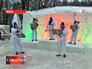 Концерт снеговиков в Измайловском парке