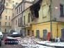 Обрушение стены здания