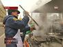 МЧС развернуло полевую кухню для стоящих в очереди к Дарам волхвов