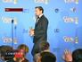 """Леонардо Ди Каприо на вручении премии """"Золотой Глобус"""""""