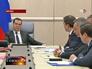 Дмитрий Медведев на совещание с вице-премьерами
