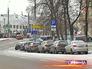 Автостоянка в центре Москвы