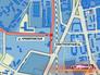 Место ДТП на карте