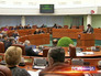 Заседание депутатов в Московской городской Думе