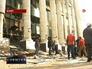 Последствия взрыва у здания суда в Египте