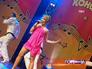 Жана Фриске выступает на сцене