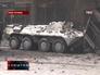 Милиция разбирает баррикады в центре Киева с помощью БТРа