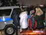 Задержание проституток полицией
