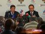Александр Жуков и Виталий Мутко на заседании исполкома национального Олимпийского комитета