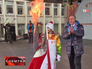 Олимпийский огонь в Ставрополе