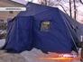 Каркасная палатка для бездомных