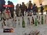 Протестующие в Киеве готовят бутылки с зажигательной смесью