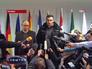 Лидеры Украинской оппозиции Арсений Яценюк и Виталий Кличко