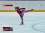 Юная фигуристка готовится к Олимпиаде в Сочи