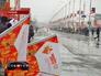 Олимпийский огонь в Грозном