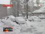 Сугробы в Ростовской области