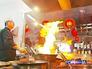 Приготовление блюда в китайском ресторане