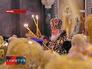 Патриарх Кирилл на литургии