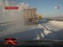 Снежная дорога в Ростовской области