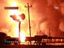 В Кирове сошли с рельсов и загорелись 32 вагона с газом