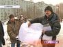 Жтели против сноса гаражного комплекса в Ясеневе