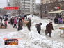 Улицы Ростова-на-Дону завалены снегом