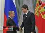 Владимир Путин поздравляет молодого ученого