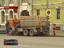 Чистка дорожного знака