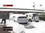 Сильный снегопад в Японии