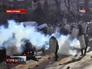 Столкновение протестующих и милиции Киева