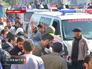 Скорая помощь на месте происшествия в Ливане