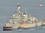 Испанский военный корабль
