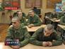 Военнослужащие на занятиях