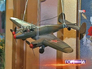 Модель штурмового самолета времен Великой Отечественной войны