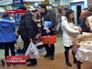 Жители Киева запасаются продуктами
