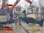 Демонтаж памятника советскому воину на Украине